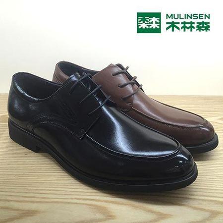 木林森男式皮鞋 2016秋季新款 M632510