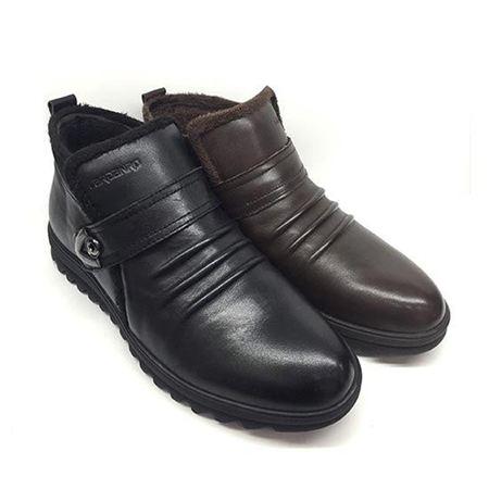 卡丹路男式皮棉鞋 2016冬季新款 M664713
