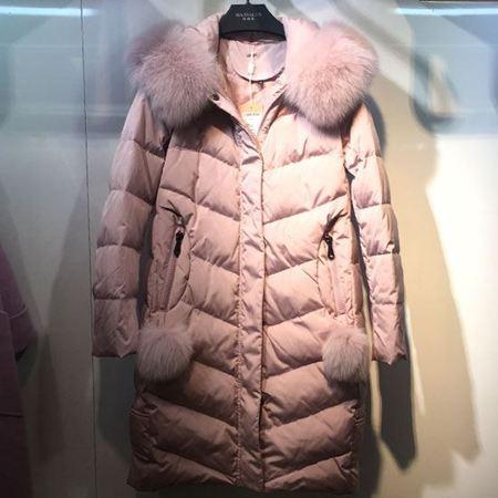 玛玮丝羽绒服 粉色/军绿色/黑色 三色可选【8.8折特惠】