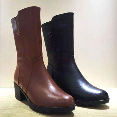 木林森 冬款女靴 CW641808【4.5折特惠】