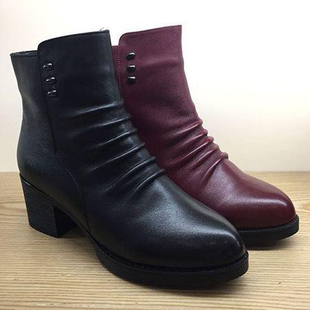 木林森 冬款女靴 CW641827【4.5折特惠】