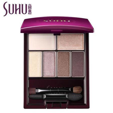 尚惠烟紫六色眼影 珠光正品眼影盘裸妆眼影专柜彩妆正品