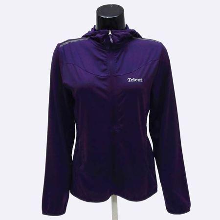 天伦天女外套671601 暗紫/黑色 2色可选