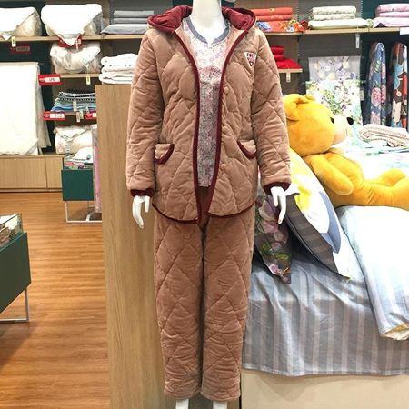 我享我家 经典夹棉套装女款 L062-11-01-01-82
