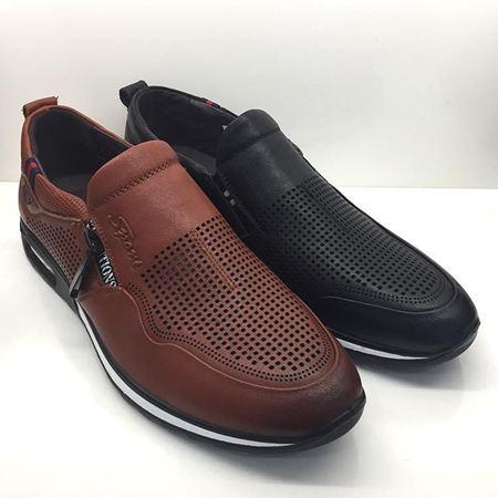 吉尔达 2017新款男鞋 8045BL-7269019-2W