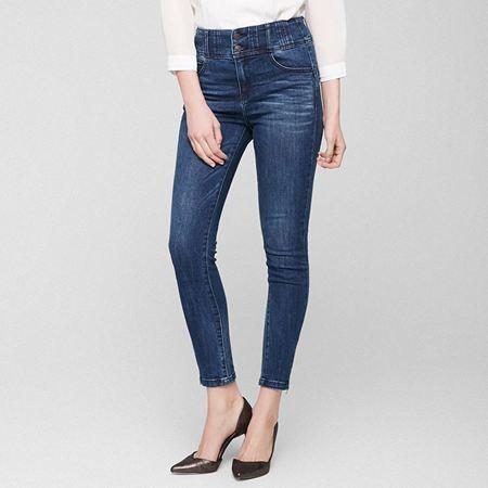 Vero Moda2017新款修身棉弹牛仔裤 17149513J3Z