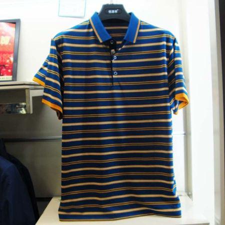 恒源祥男士短袖T恤衫CW1719 黄色