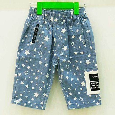 布鲁莎莎男童裤子B702271 牛仔蓝