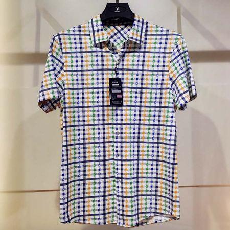 花花公子男装针织衬衫135133460 品牌特惠价299元 专柜正品