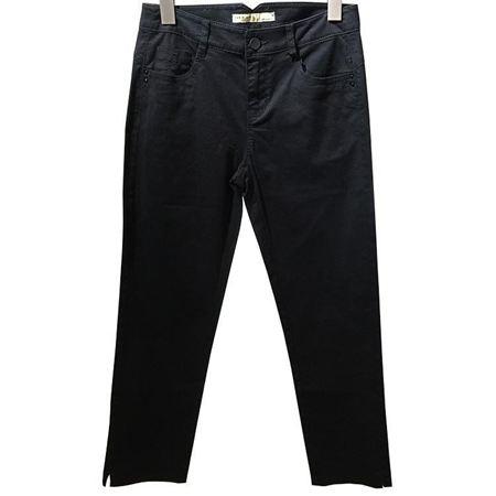 逸阳八分裤W6X085526X-A01 黑色 断码特惠一口价129元
