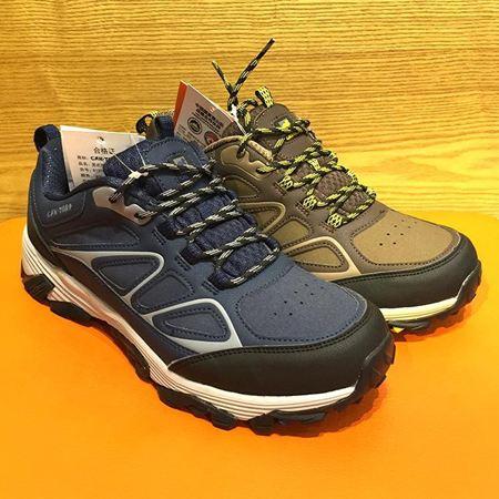 肯拓普 男式徒步鞋 8131691659 咖啡色 深蓝色可选