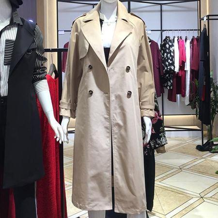 Effusive三弗国际时装 米色风衣 373300F