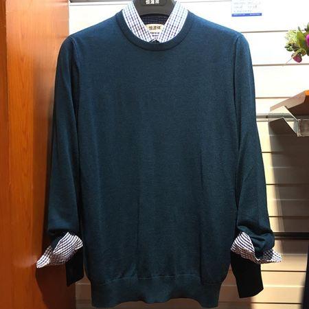 恒源祥T恤衫 T17203翠绿 新款上市