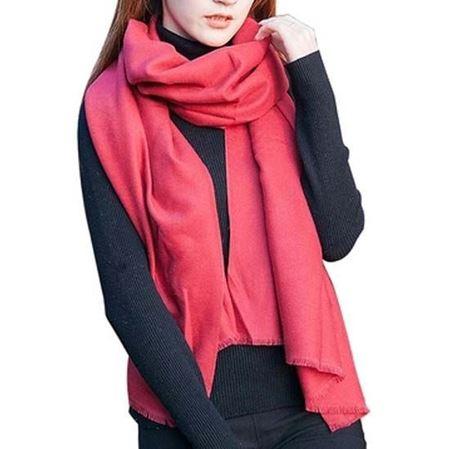 太阳城纯色围巾