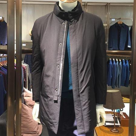 迪柯尼男装羽绒服16645013-500 黑色  2017新款上市