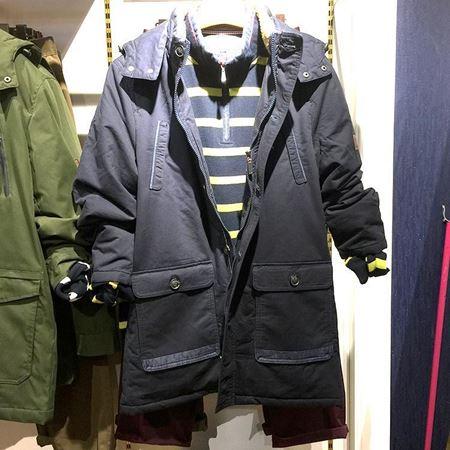 威鹏休闲棉外套 黑色 C73010651M000