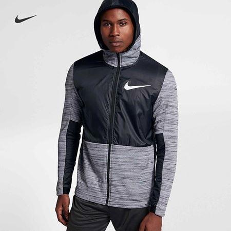 Nike 耐克 NIKE THERMA 男子全长拉链开襟篮球连帽衫 857045
