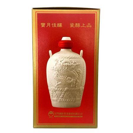 台湾金门高粱酒白金龙特级58度1000ml