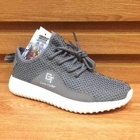 肯拓普 女士休闲鞋 T111781133 深灰色 2018年新款