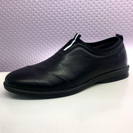 富贵鸟 春季新款男鞋 S8013381 黑色