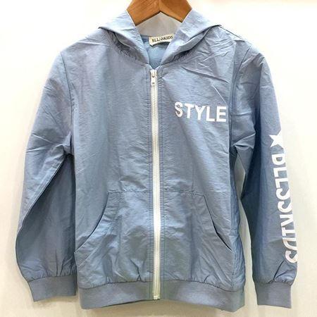 布鲁莎莎男小童外套813625 天蓝 100%聚酯纤维