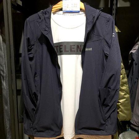 天伦天男外套 581601 藏青色 2018年新款