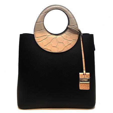 凯撒KAISER女包2179304603B 黑色 2018新款专柜正品
