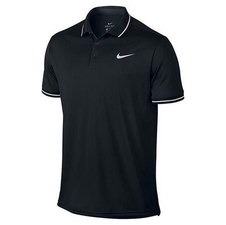 Nike耐克短袖男 夏季运动透气网球训练翻领POlO衫830848-010