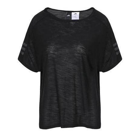 adidas阿迪达斯2018女子W Id 3S Tee圆领短T恤CG1007 CF0342