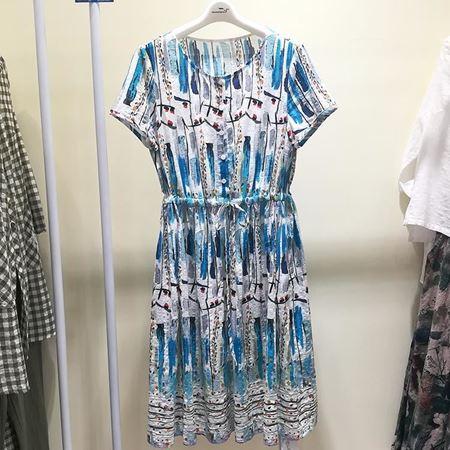 依伽依佳 连衣裙 18XL069 长裙 夏季新款