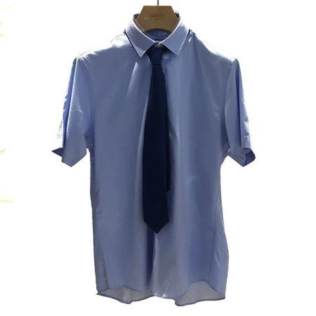 雅戈尔 男士圆摆寸衫 YSTS12243HFY 蓝色