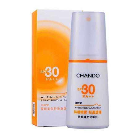 自然堂(CHANDO)雪域轻盈身体防晒乳(喷雾型)SPF30PA++