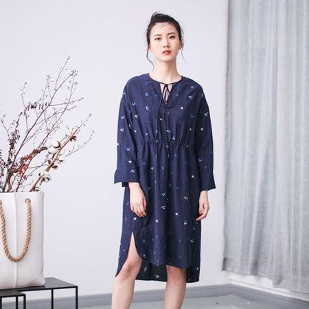 三生物 定制 森林呓语帛绳连衣裙