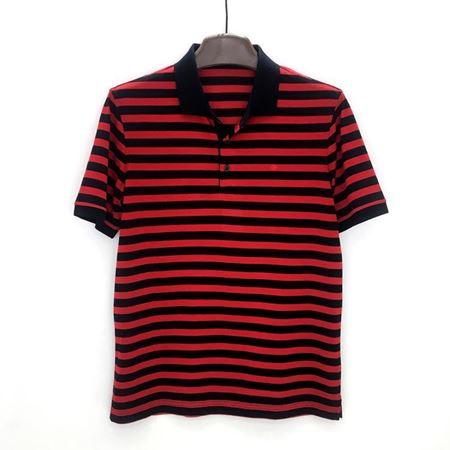 绅浪短袖T恤衫QS-185 红黑条纹 2018夏季新款