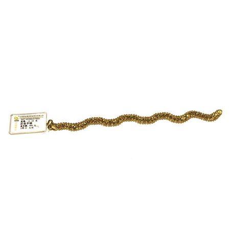 中国黄金 足金手链 含金量999‰ 0027-822NGU327S002