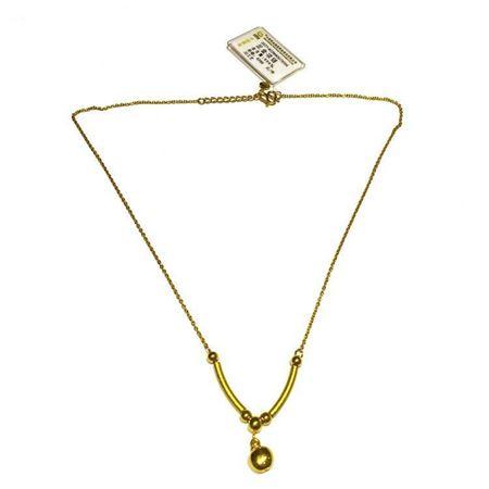 中国黄金 足金项链 含金量999‰ 0027-822NHK507X004 3D工艺