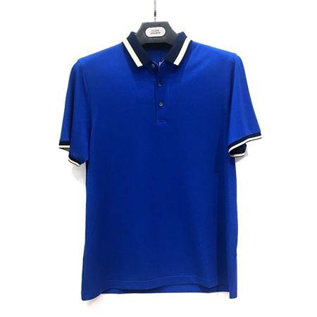 杉杉 短袖T恤17123-24 湖蓝色 2018夏季新款