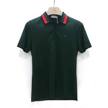 宝马 T恤 FS18321 墨绿 2018年夏季新款
