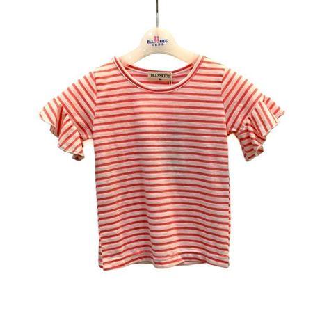 布鲁莎莎 女小童针织T恤 811009 粉红 2018年新款