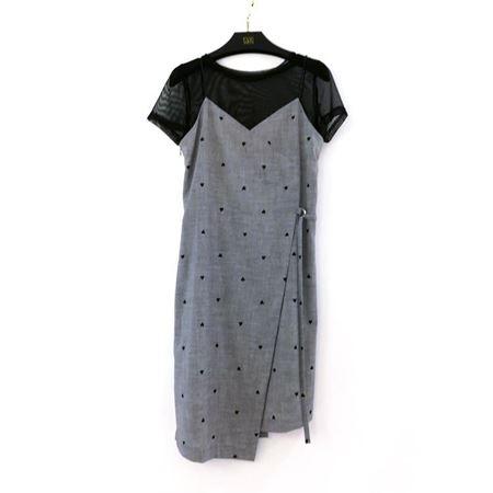 佧茜文 套装(吊带裙+小衫)C03BHB22651 灰色 2018夏季新品