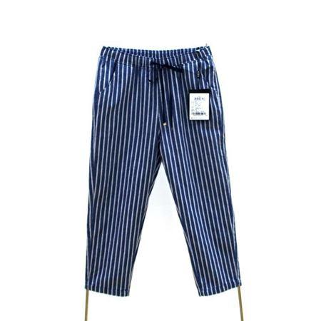 逸阳 萝卜裤 牛仔蓝 2018年夏季新款