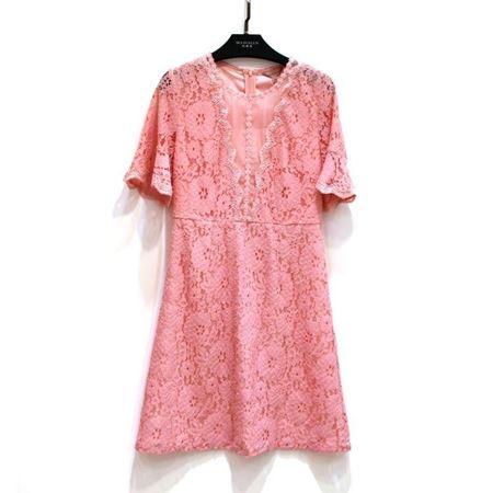 玛玮丝 连衣裙 M18L1007 橙红 2018年新款