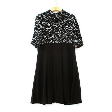 慕托丽 夏款连衣裙 MR2120858011W027 黑色 2018新款上市