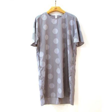 慕托丽 夏款连衣裙 MR2120958009W012 黑白条纹 2018新款上市