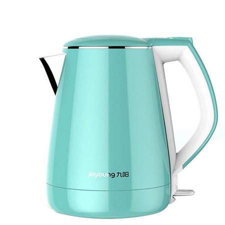 九阳(Joyoung) K15-F23 电热水壶304不锈钢烧水防烫开水煲水壶1.5L