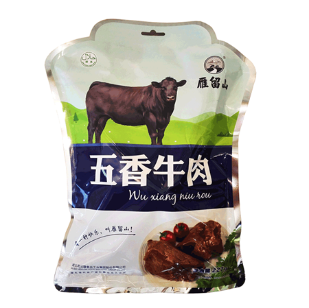 雁留山大块牛肉五香味/大块牛腱五香味 227g 开袋即食