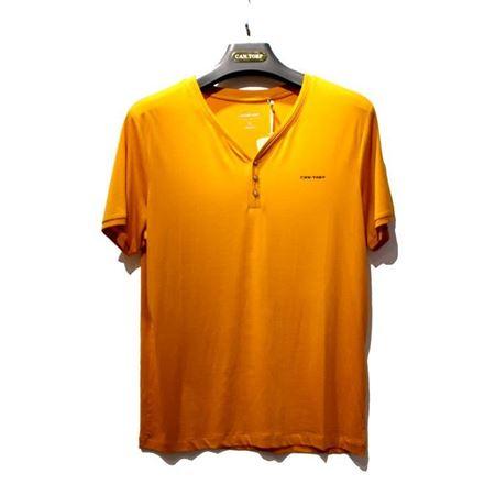肯拓普 男士休闲家居T恤 8522961224 橙色/深蓝/藏青 特价一口价150元