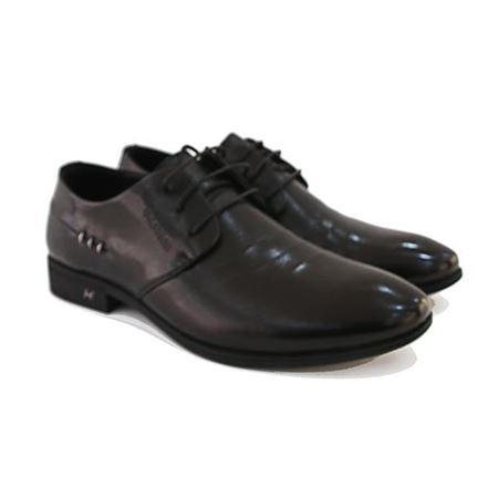 吉尔达 男式皮鞋 8202BD-8356982W 黑色 2018秋季新款