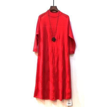 艾菲 连衣裙 大红色 190024 2018年新款