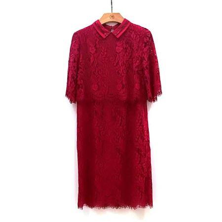 慕托丽 连衣裙 MR3122911411W022 酒红色 2018新款上市